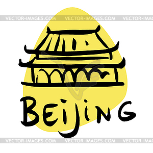 capital of China.