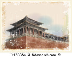 Beijing Clip Art Illustrations. 919 beijing clipart EPS vector.