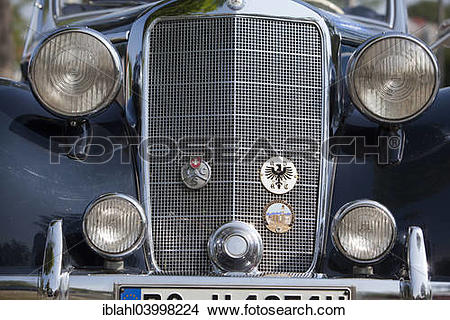 "Stock Photo of ""Mercedes convertible, Beilngries Classic, classic."