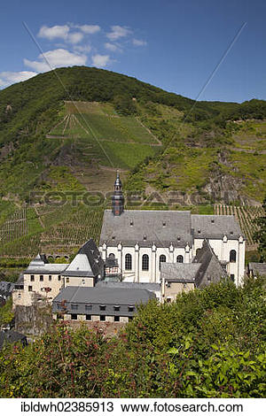 "Stock Photo of ""Carmelite church, Beilstein, Cochem."