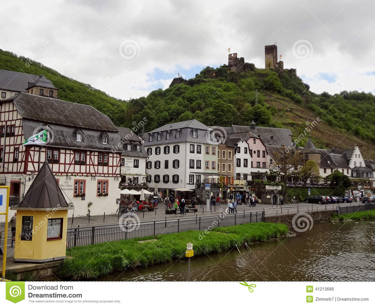Beilstein Germany Editorial Stock Image.