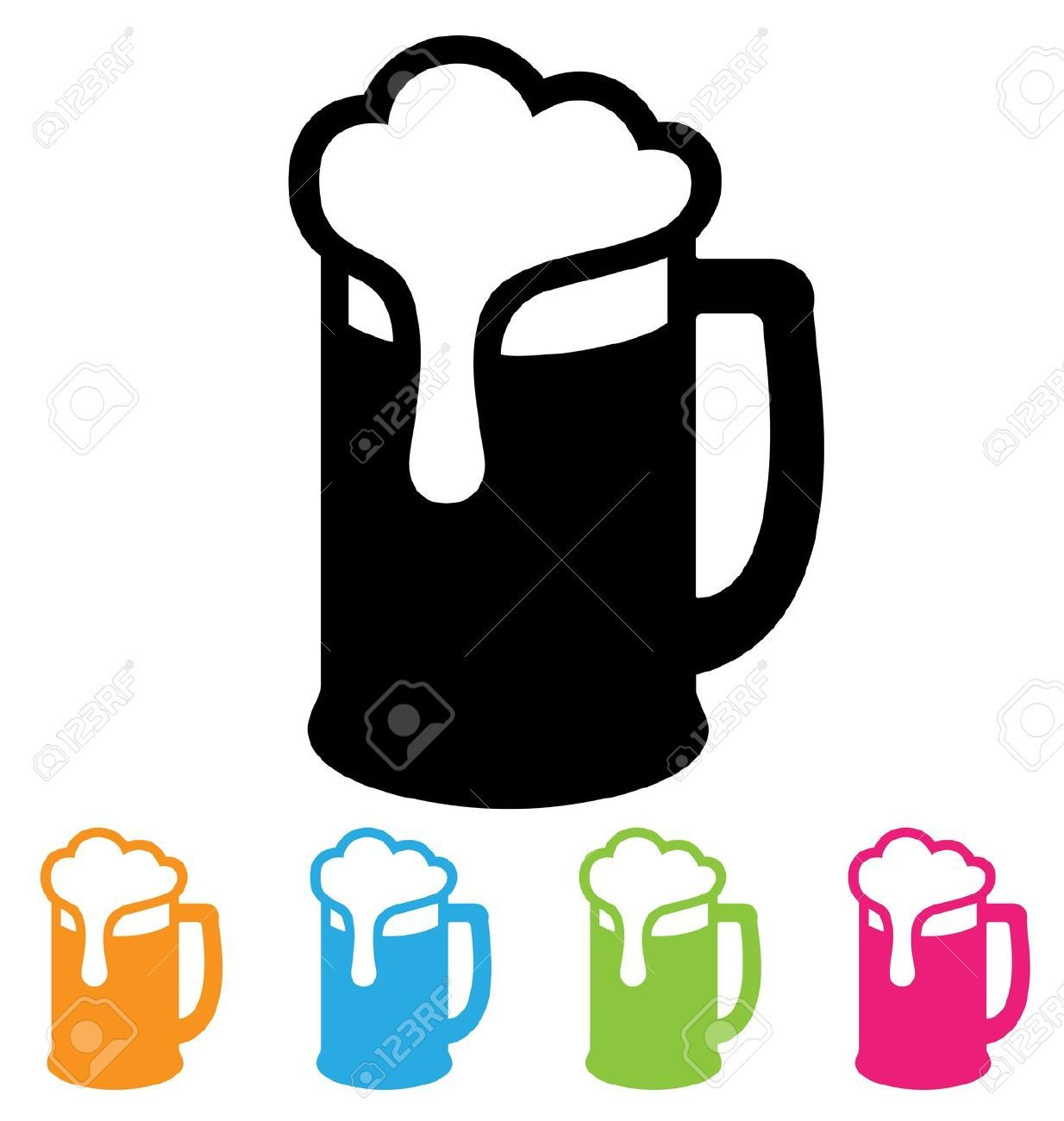 Beer Mug Cliparts, Stock Vector And Royalty Free Beer Mug.