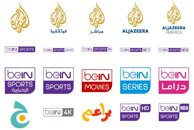 download font logos bein aljazeera color #font ttf otf 64 #logos.