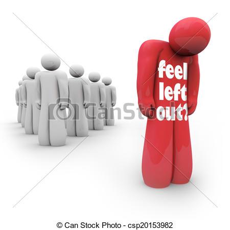 Alone clipart sad feeling.