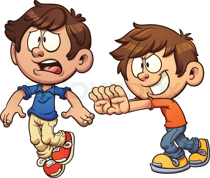Kids Being Mean Clipart.