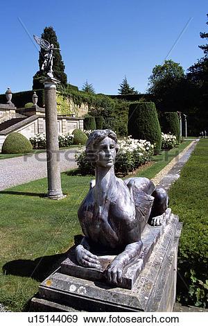 Stock Photograph of Blenheim Palace, Woodstock, near Oxford.