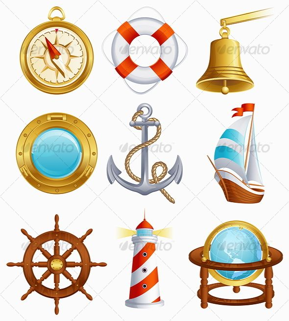 Mas de 1.000 imagens sobre Nautical clip art no Pinterest.