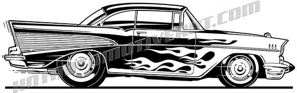 Chevy bel air logo clipart.