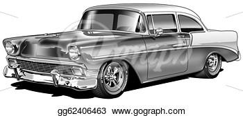 1957 Chevy Bel Air Clip Art #Pvyb38.