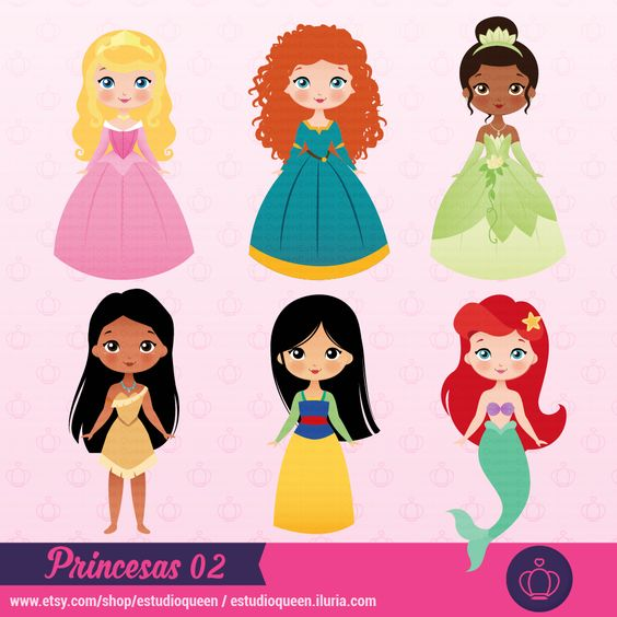 clipart princess, clipart princesas disney, princesas, mulan.