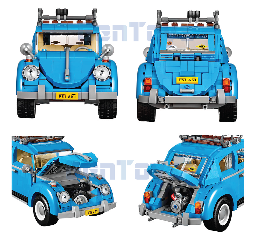 Volkswagen Beetle BELA 10566 with LEGO Compatible.