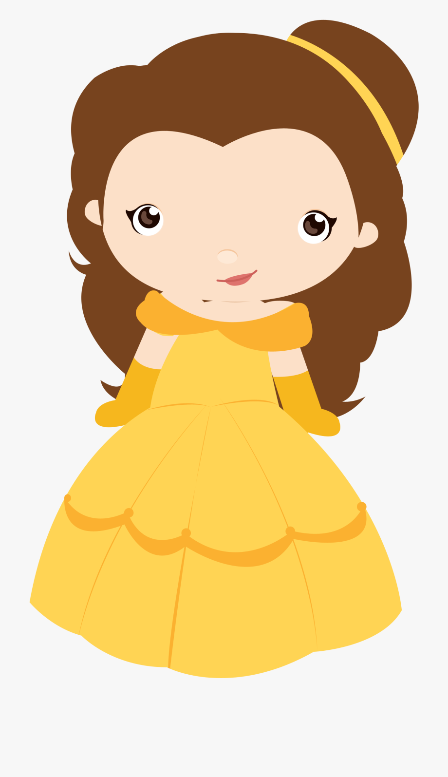 Bela E Fera Baby Clipart , Png Download.