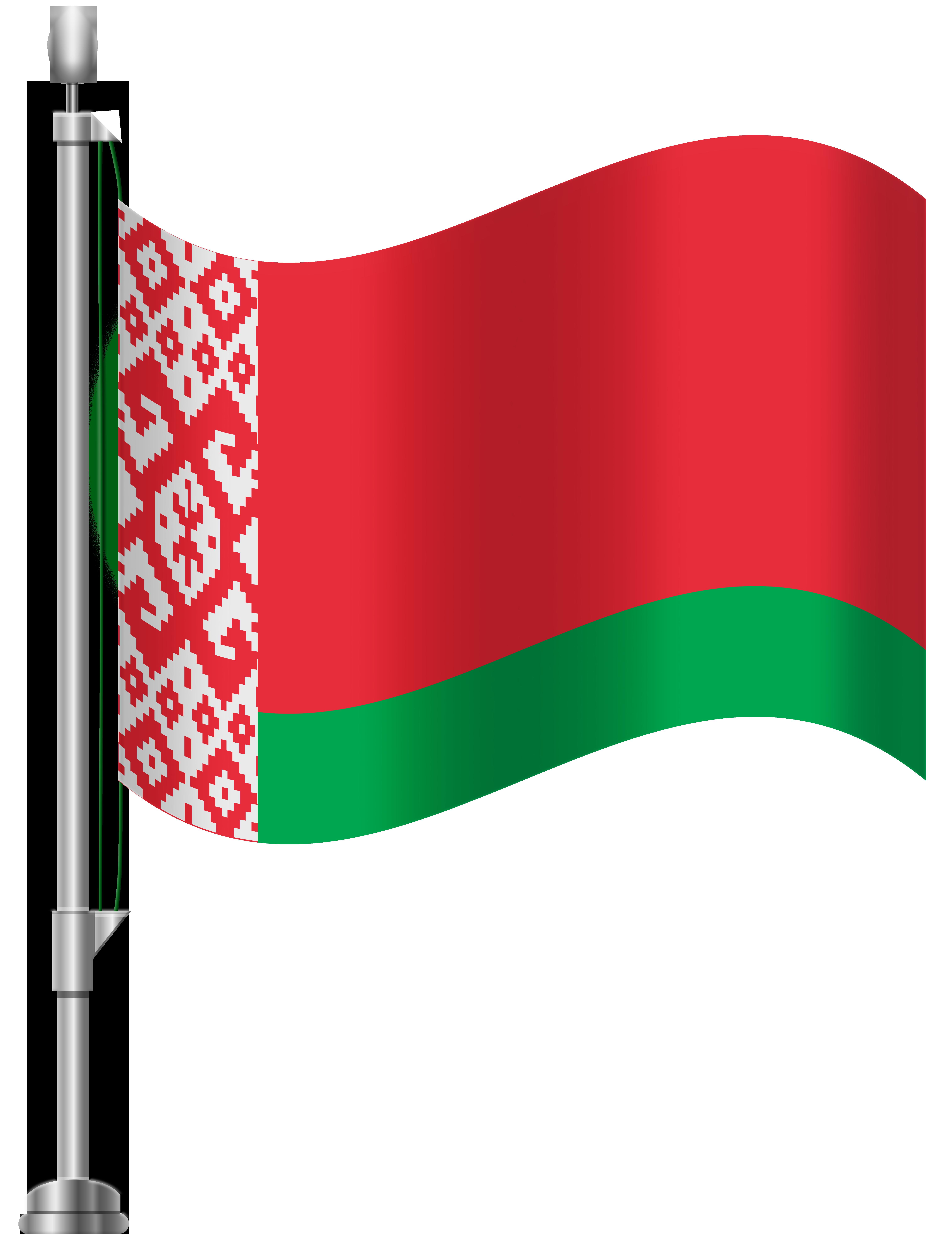 Belarus Flag PNG Clip Art.