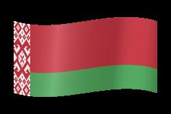 Belarus flag clipart.