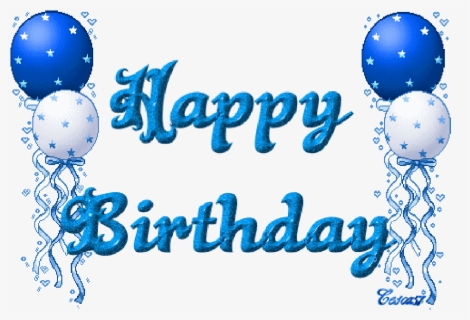 Free Happy Birthday For A Man Clip Art with No Background.
