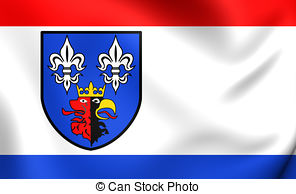 Flag of belchatow county poland Illustrations and Clip Art. 2 Flag.