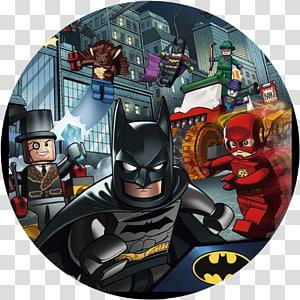 Lego Dc Comics Batman Beleaguered transparent background PNG.