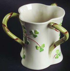 Belleek Shamrock Herself Mug.