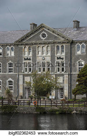 "Stock Photo of ""Belleek Pottery, Belleek, County Donegal, Northern."