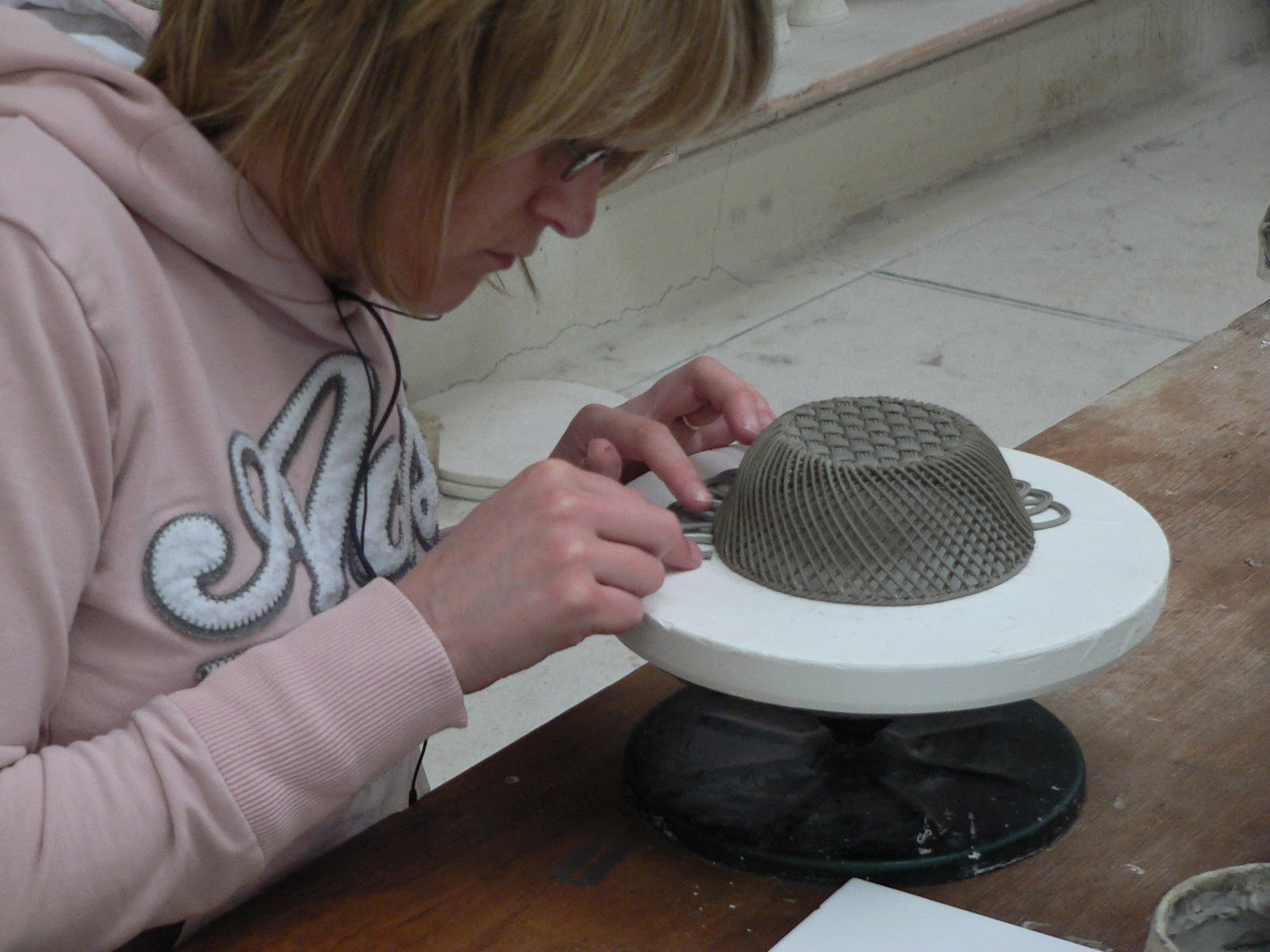 Joy in a JAR: Inspired by Belleek Pottery.