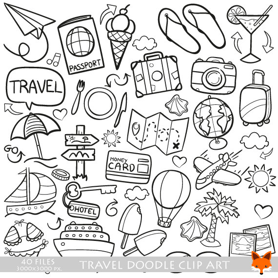 VECTOR EPS Travel Traveling Friends and Family Trip Holidays.