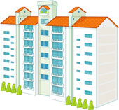 Apartment Clipart Images & Pictures Becuo, apartment graphics.