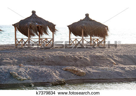 Stock Photo of Chill out on the Mediterranean coast. Turkey. Belek.