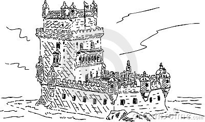 Belem Stock Illustrations.
