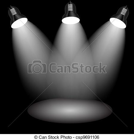 Clip Art Vektor von Raum, lampe, gegenstand, dein, Beleuchtung.