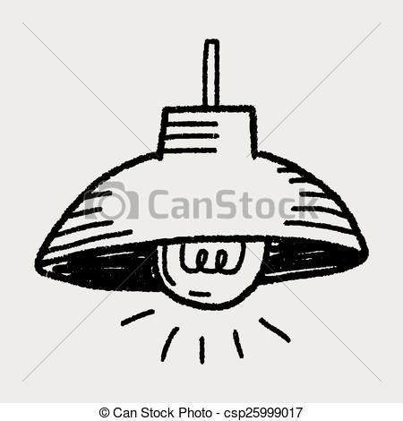 Vektor Clip Art von Gekritzel, Beleuchtung csp25999017.