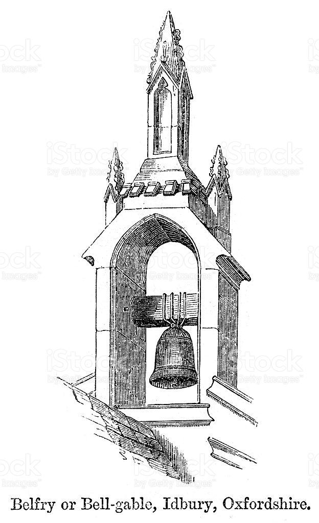 Belfry Clipart.