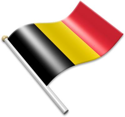 Flag Icons of Belgium.