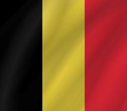 Belgium flag clipart.