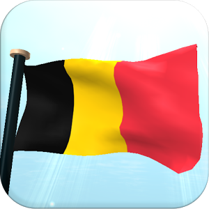 Belgium Flag 3D Free Wallpaper.