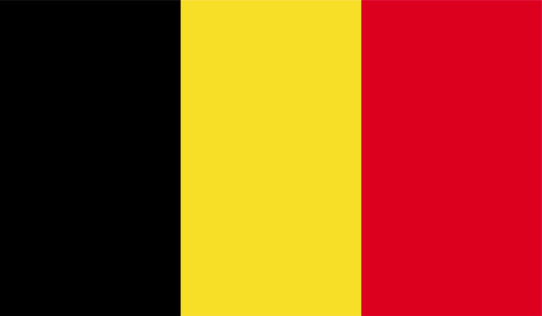 Belgian flag clipart.