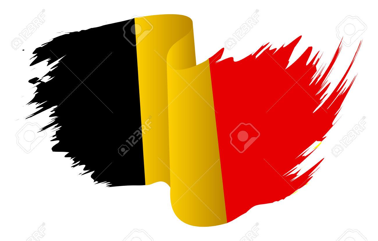 Belgium Flag Vector Symbol Icon Design. Belgian Flag Color.