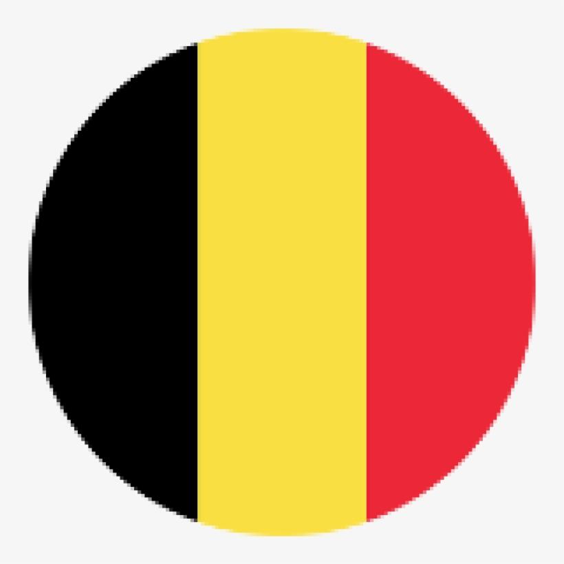 4me Flag Round Belgi.