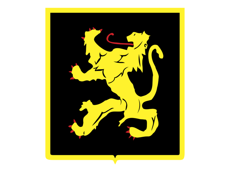 Belgian Lion Logo PNG Transparent & SVG Vector.