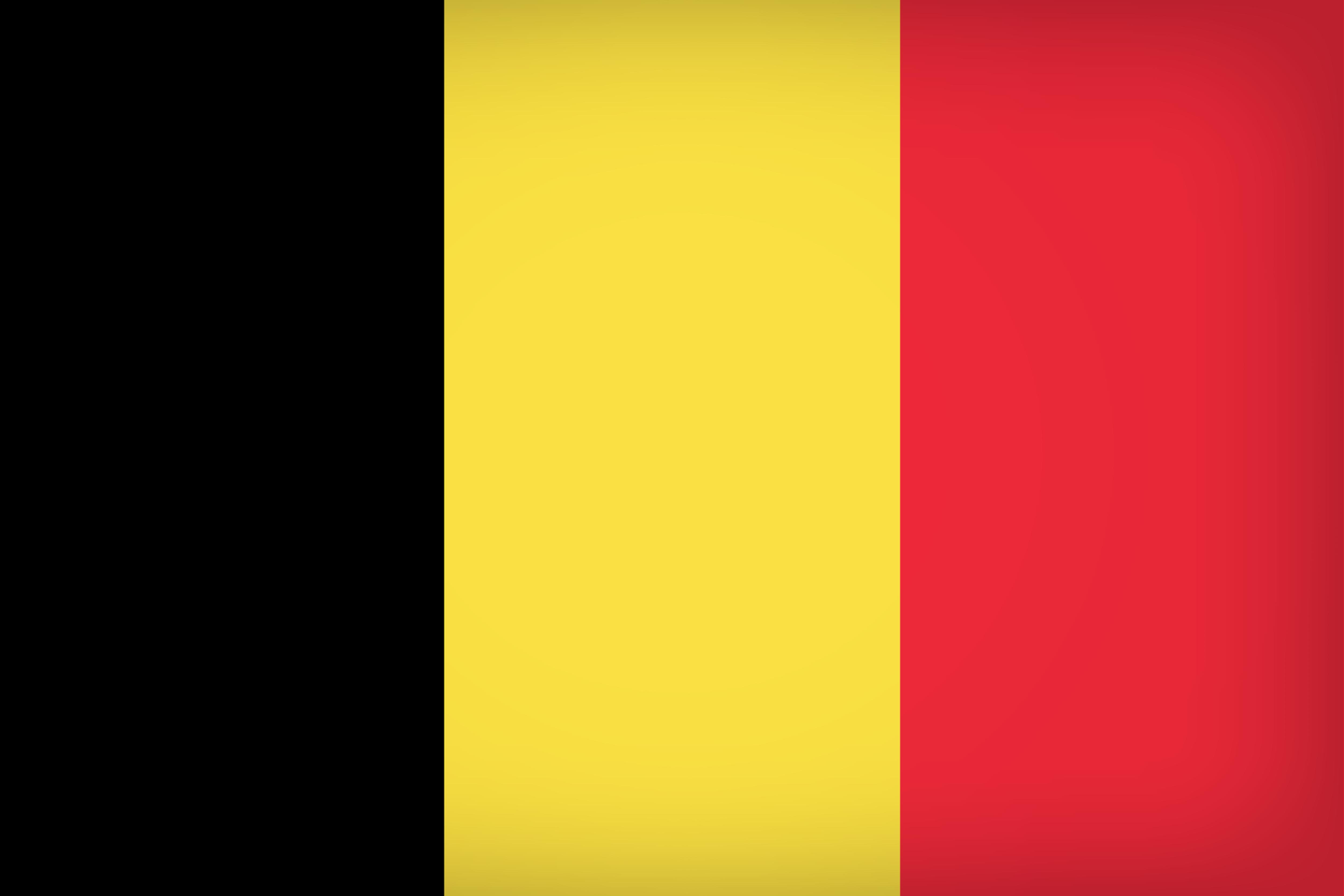 Belgium Large Flag.