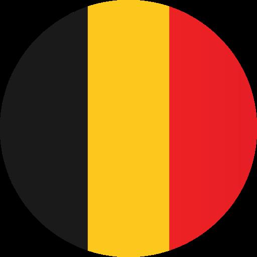 Belgium, flag icon.