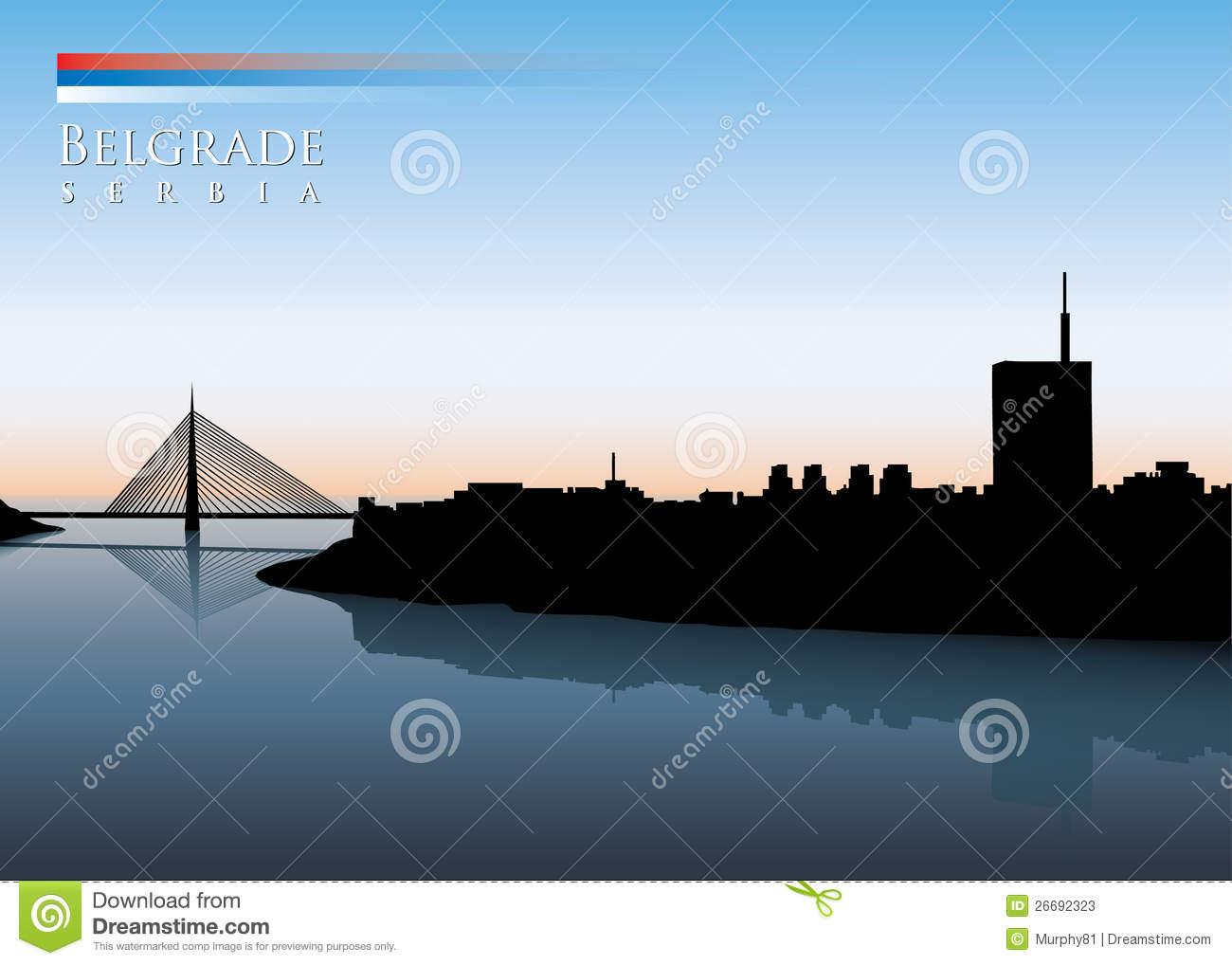 Belgrade Stock Illustrations.