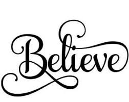 Image result for Believe clipart black and white.