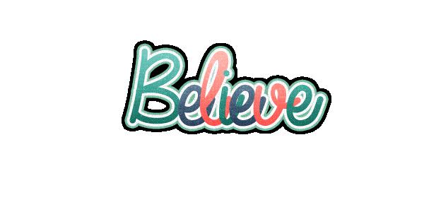Believe Clipart.