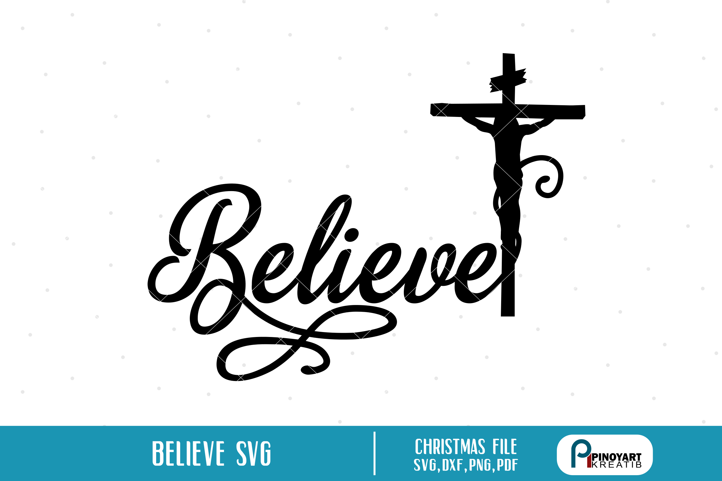 Believe svg.