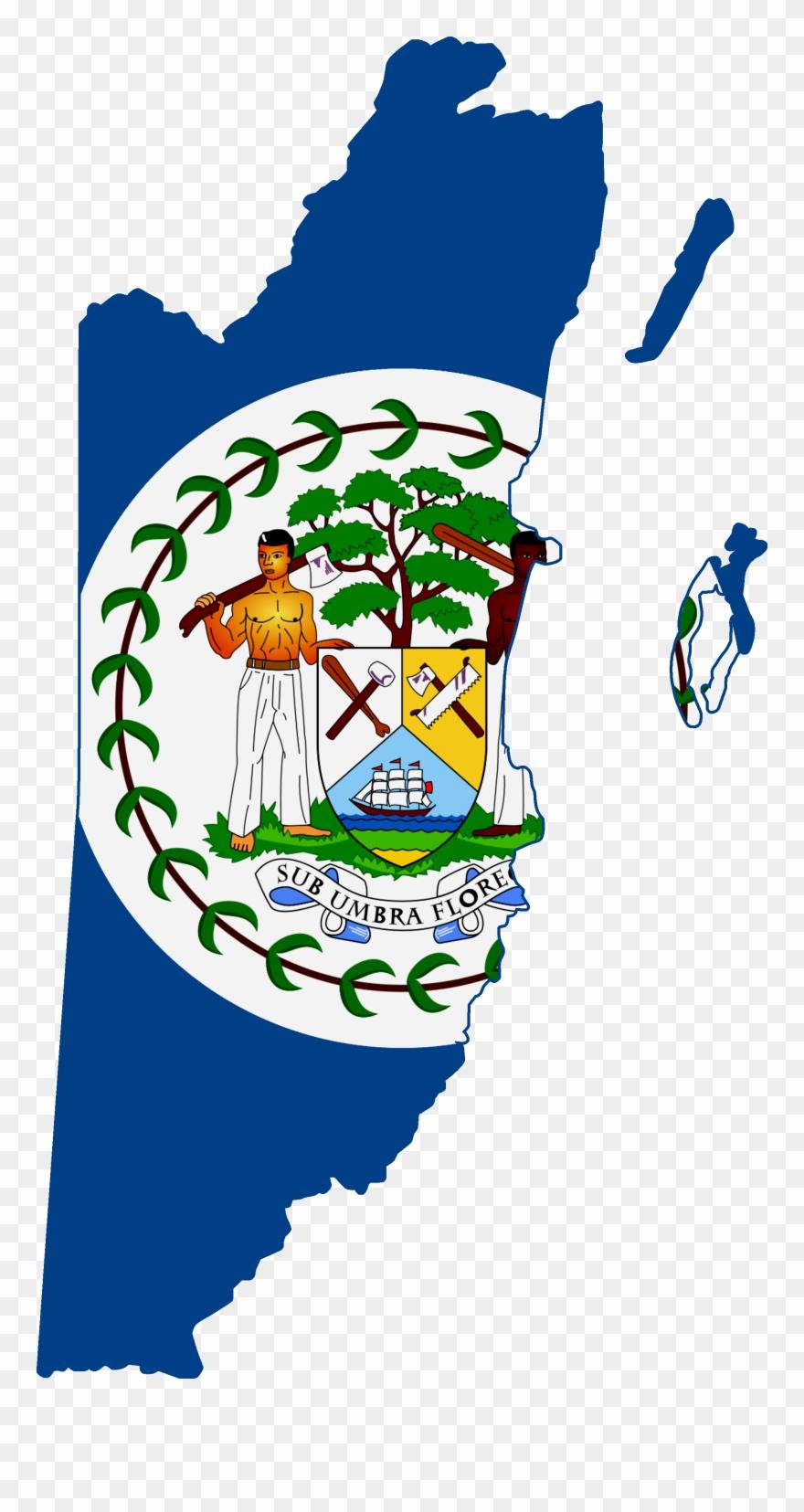 Flag Clipart Belizean.