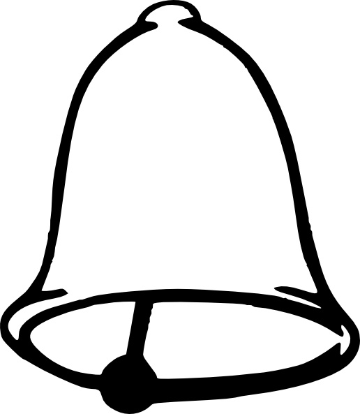 Bell clip art Free vector in Open office drawing svg ( .svg ) vector.