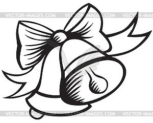 christmas clip art black and white.