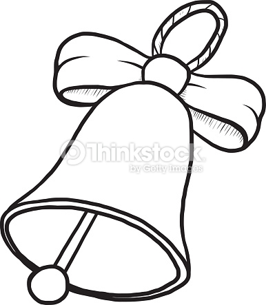 Bell clipart black and white 4 » Clipart Station.