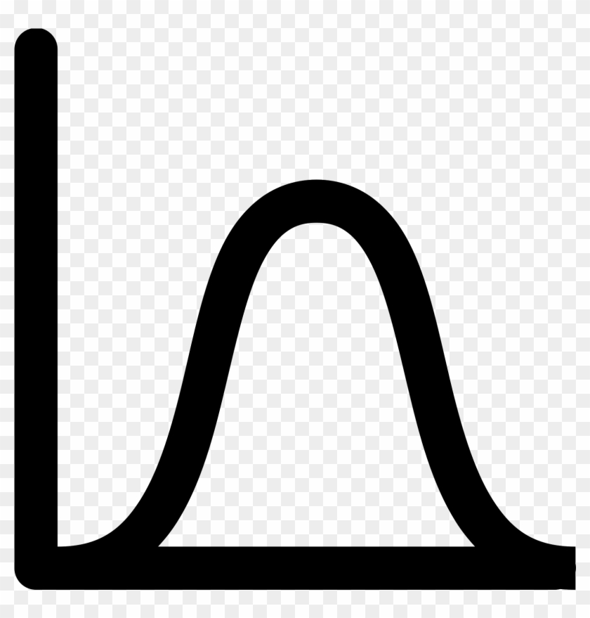 Bell Curve Png Icon.
