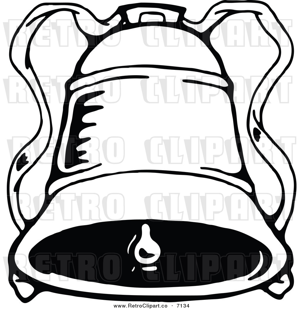 Jingle Bell Black And White Clipart.